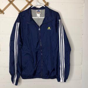 Adidas lined windbreaker coat